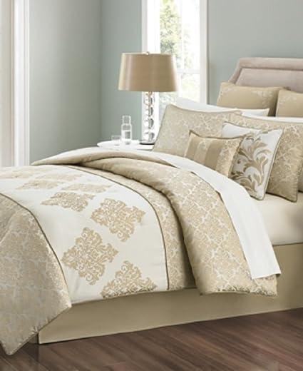 Martha Stewart Collection Versailles Tile 6 Piece Twin Comforter Set Bedding