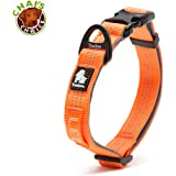 Chai's Choice Best Outdoor Adventure II Pet/Dog Collar Model! 3M Reflective with Aluminum Leash Attachment. Matching…