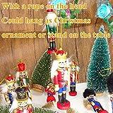 Jolik 6 PCS Wooden Nutcracker Ornament Christmas