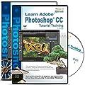 Adobe Photoshop CC Tutorial plus Adobe Photoshop CS6 Training Bundle on 6 DVDs