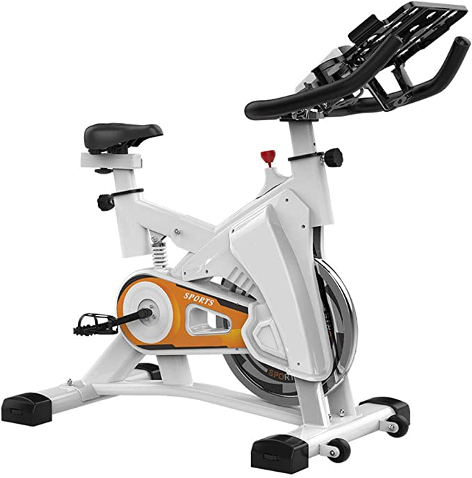 HLEZ Bicicleta Spinning Indoor, Ajustable Resistencia LCD Pantalla ...