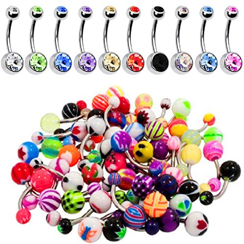 cute belly rings cheap - 2
