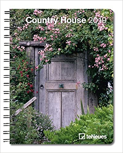 2019 Country House Deluxe Diary- teNeues - 16.5 x 21.6 cm