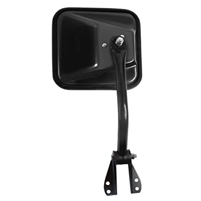 Fit System 60020C Jeep Driver Side Replacement OE Style Manual Folding Mirror: Automotive