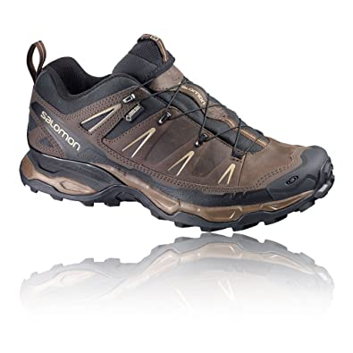 SALOMON Men's X Ultra Leather GTX Low Rise Hiking Shoes