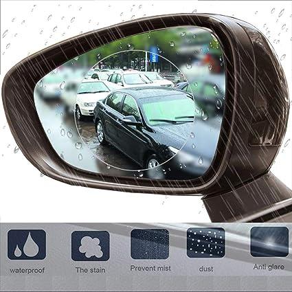 2pcs Auto Anti Wassernebel Film Anti Fog Waterproof Rückspiegel Schutzfolien