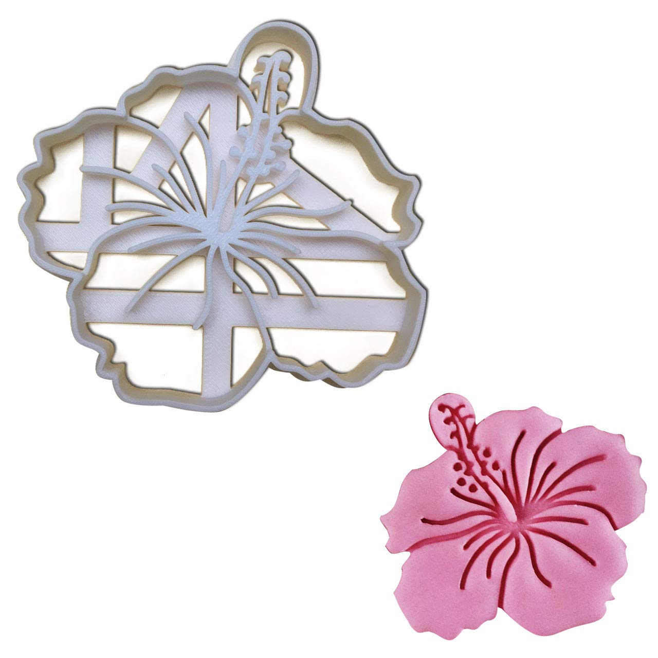 Amazon Hibiscus Flower Cookie Cutter 1 Pc Ideal Gift For