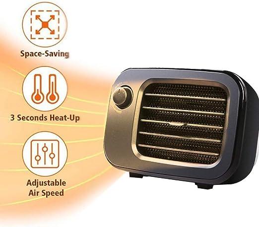 YQSHYP calentador de ventilador, PTC Calentador de cerámica ...