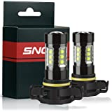 SNGL 5202 ( H16 Type 1) Super Bright CREE LED DRL Fog Light bulbs - Plug-and-Play - 6000K Cool White (Pack of 2)
