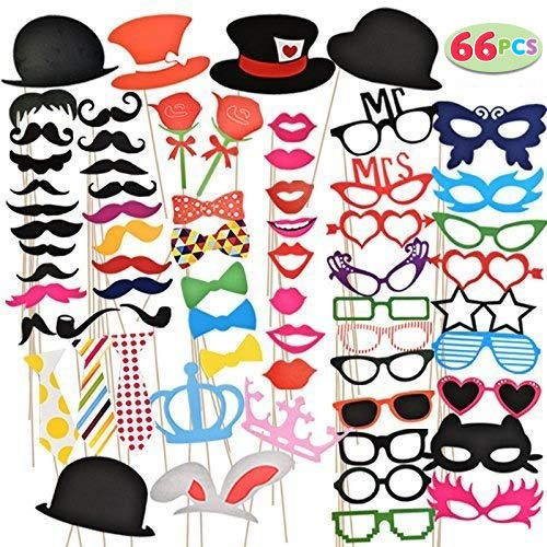 Joyin Toy Graduation Photo Booth Props 66 Pieces]()