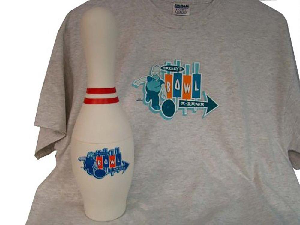 Homer Simpson Bowl a Rama Tshirt - 3xl
