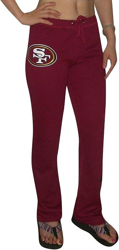 Victoria S Secret Pink Womens San Francisco 49ers Pajama Pants M Burgandy At Amazon Women S Clothing Store Athletic Pants