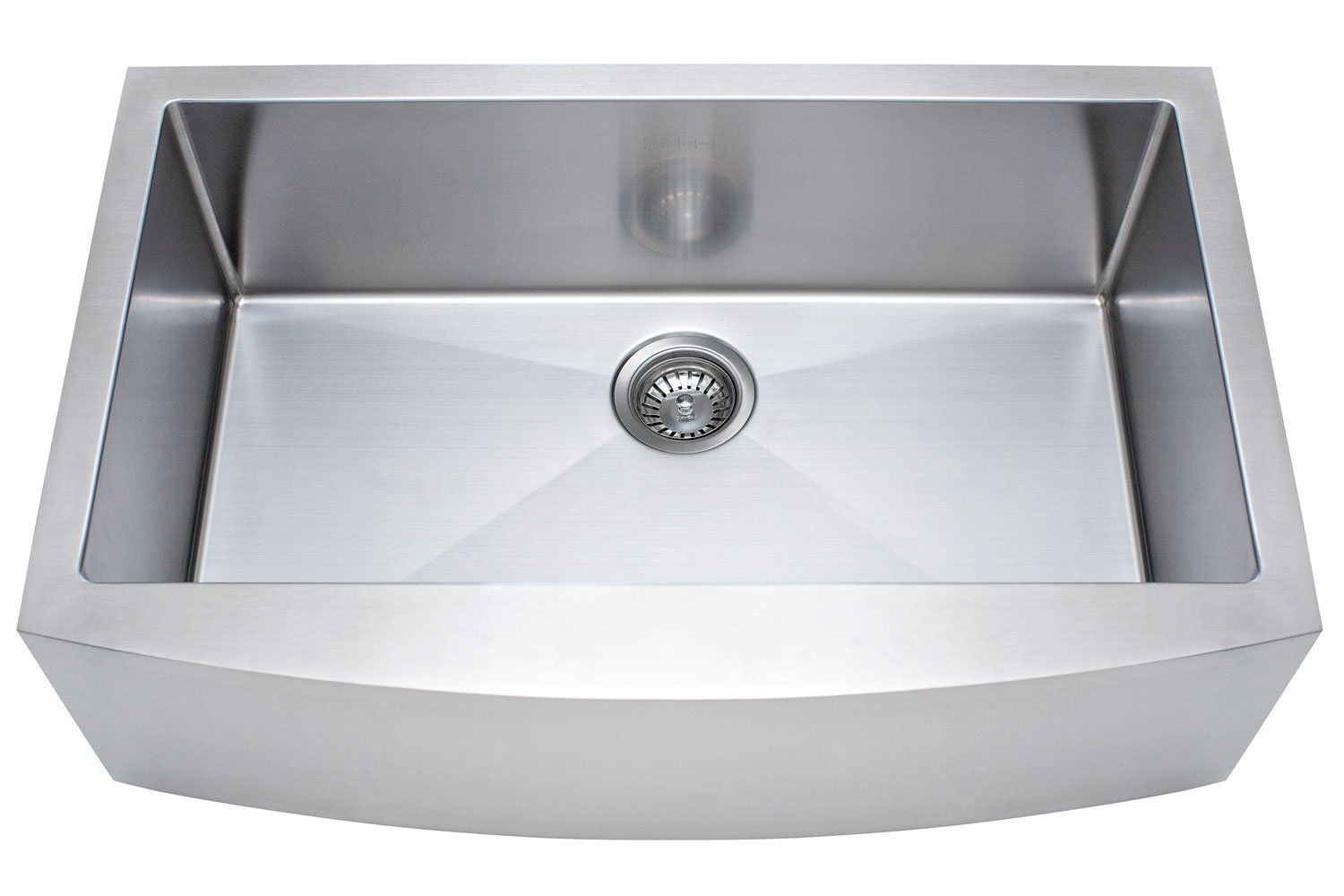 Franke Kinetic 33'' Apron Front Farm House Single Bowl Kitchen Sink, Stainless Steel