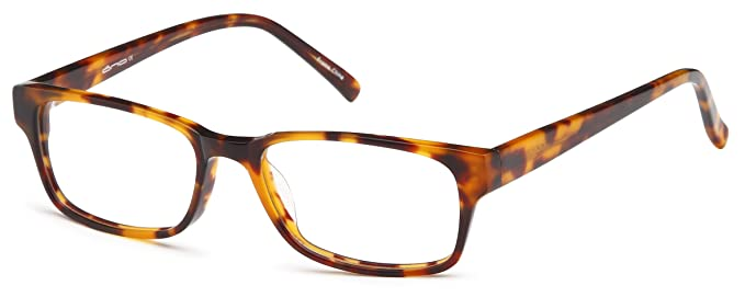 b0606e2275 Unisex Sturdy Wayfarers Prescription Rx-able Eye Glasses Frames in Tortoise