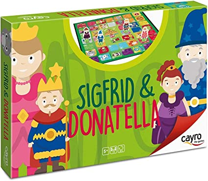 Cayro - Sigfrid and Donatella - Juego infantil cultural y ...