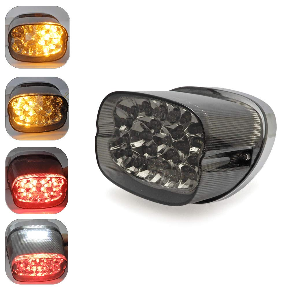 Led Tail Light Turn Signals For Sportster Xl Flhr Flhrci 2001 Dyna Colored Lighting Wiring Diagram Fxd Road King Electra Glide Brake Park Stop Lamp Automotive