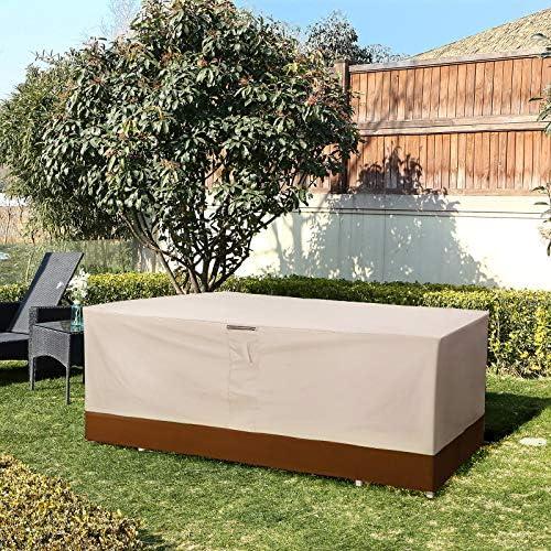 SONGMICS 600D Oxford Funda Protectora para Muebles de jardín, 240 ...