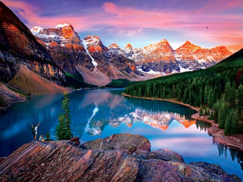 (Buffalo Games - Reflections - Mountains on Fire - 750 Piece Jigsaw Puzzle)