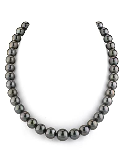 49a78e6021f1b 14K Gold Tahitian South Sea Cultured Pearl Necklace - AAA Quality, 18