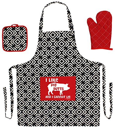 Cannot Aprons 3 piece Cooking Grilling