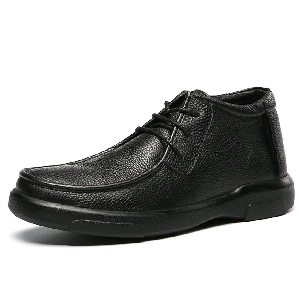 Herren schuhe Schwarz Leather schuhe Herren Fashion Low-top schuhe d22aef