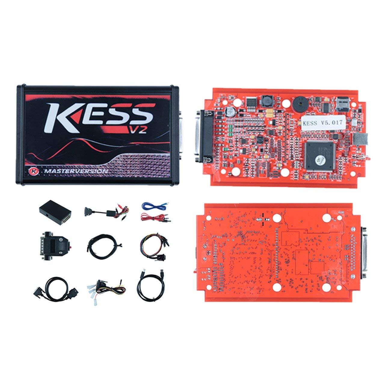 Vehicle Tools WA0069B KESS V2 5 017 Master Version No Token ECU
