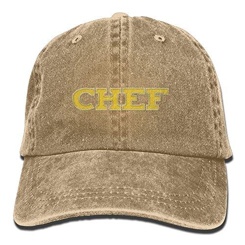 FISIDIMI CAP Chef Unisex Embroidery Cotton Denim Hat Washed Retro Gym Hat by FISIDIMI CAP