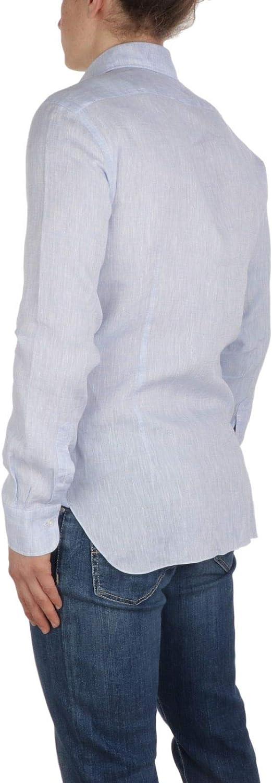Barba Luxury Fashion Mens Barba620602 Light Blue Shirt | Spring Summer 20