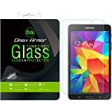 Dmax Armor for Samsung Galaxy Tab 4 7.0 Screen Protector, [Tempered Glass] 0.3mm 9H Hardness, Anti-Scratch, Anti-Fingerprint,