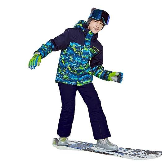 Traje De Esquí para Niños, Snowboard para Niños Chaqueta De ...