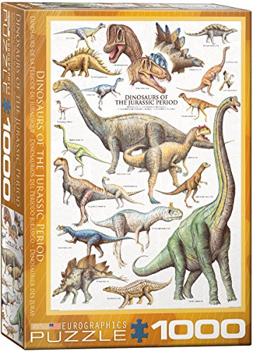EuroGraphics Dinosaurs Jurassic 1000 Piece Puzzle