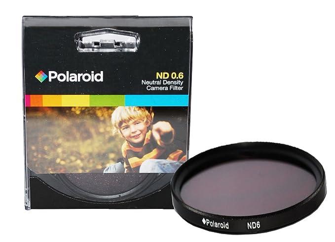 Polaroid Optics ND 0.6 Filtro gris para la Pentax X-5, K-01, K-30, K-X, K-7, K-5, K-5 II, K-R, 645d, K20D, K200D, K2000, K10D, K2000, K1000, K100D Super, ...