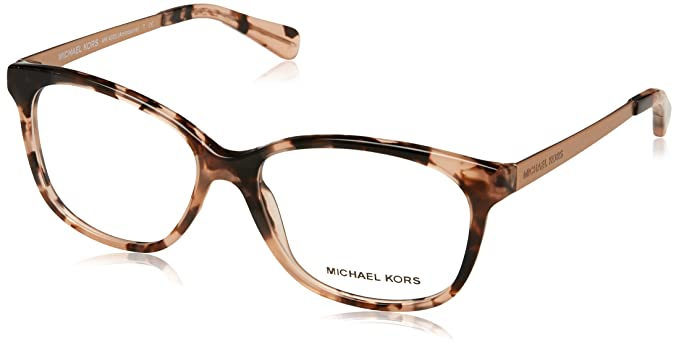 52335ca013 Image Unavailable. Image not available for. Color  MICHAEL KORS Eyeglasses  MK4035 AMBROSINE 3205 Pink Tortoise