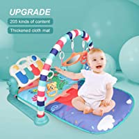 Baby Kick 'n Play Piano Gym Tenlso Newborn Toy for 0-36Month, Improve Baby Brain Develop Skill,Playing Rug Educational Rack Toys