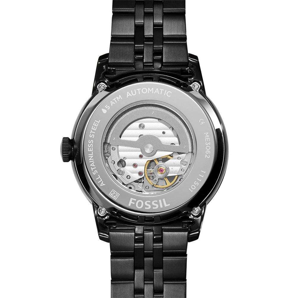 Fossil Reloj Unisex de Analogico con Correa en Chapado en Acero Inoxidable ME3062: Amazon.es: Relojes