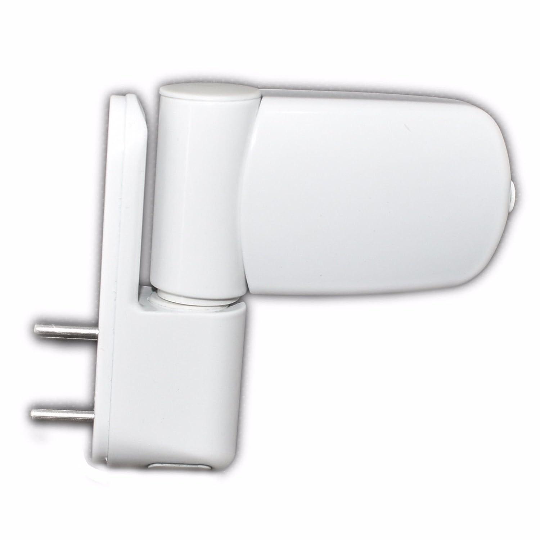 UPVC 3D Door Flag Hinge - White - AVOCET ET3D: Amazon.co.uk: DIY & Tools