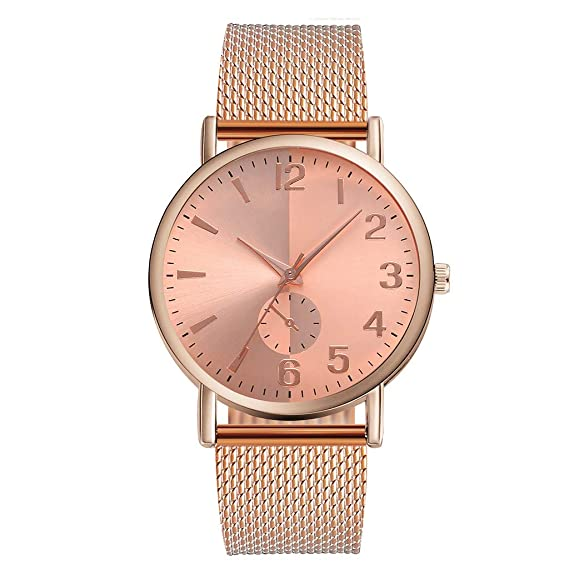 Amazon.com: Women Quartz Watches,Fudule Analog Wrist Watches ...