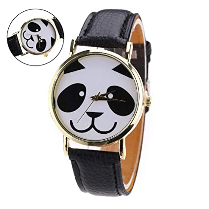 Romote Relojes Mujeres Panda Popular para los Hombres Hombre Relojes Mujer Marca Señoras de la Manera