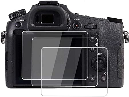 Lexerd Compatible with Sony DCR-DVD405 TrueVue Crystal Clear Digital Camcorder Screen Protector
