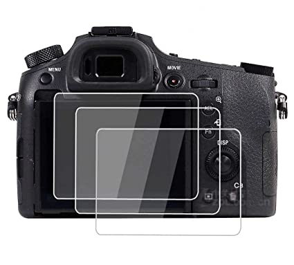 PCTC Tempered Glass Screen Protector Skin Film for Sony rx 10 Mark III RX10  III RX10 IV DSC-RX10M3 A9 A7 III A7II A99II A99 Mark ii A77 Mark ii (3