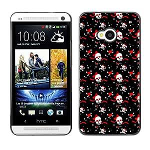 ZECASE Funda Carcasa Tapa Case Cover Para HTC One M7 No.0002445