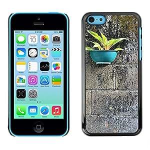 Print Motif Coque de protection Case Cover // M00290368 Negativo Tiesto Espacial // Apple iPhone 5C