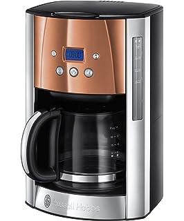 Braun KF 47/1 - Cafetera de goteo, 1000 W, 1.2 L, 20 dB, acero inoxidable, blanco: Amazon.es: Hogar