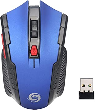 Pro Mini 2.4Ghz Wireless Optical Gaming Mouse Mice /& USB Receiver For PC Laptop