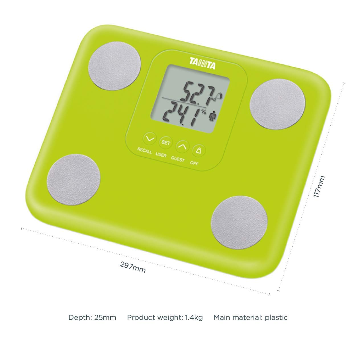 Fabulous Tanita Bc730G Innerscan Body Composition Monitor Green Download Free Architecture Designs Scobabritishbridgeorg