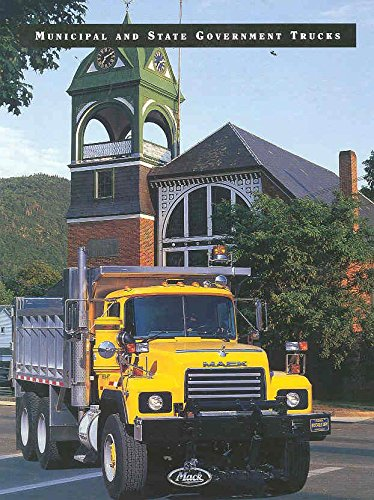 1997 Mack Government Garbage Refuse Dump Truck Brochure from Mack