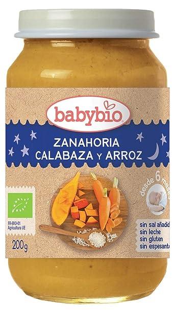 Potito Buenas Noches Zanahoria, Calabaza y Arroz