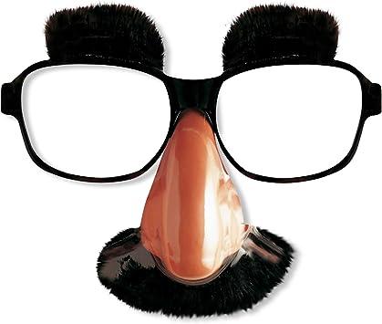 Fancy Dress Disguise Set Glasses Nose Moustache Novelty Fun Accessory
