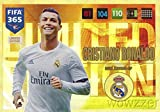 2017 Panini Adrenalyn XL FIFA 365 EXCLUSIVE Christiano Ronaldo Limited Edition Card! Rare Awesome Special Great Looking Card Imported from Europe! Shipped in Ultra Pro Snap Card Holder to Protect it !