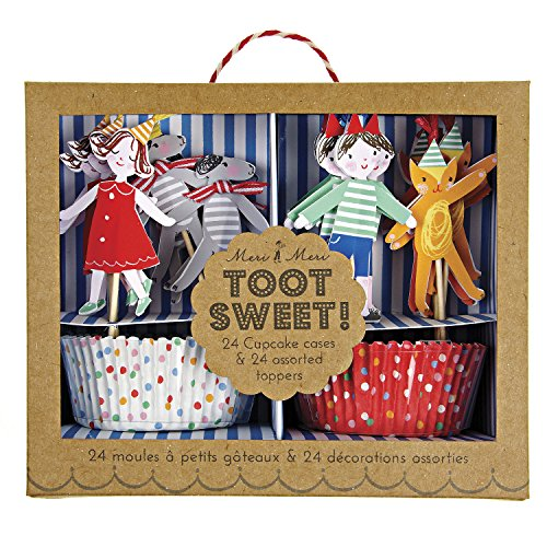 Meri Meri Children's Cupcake Kit, Toot Sweet
